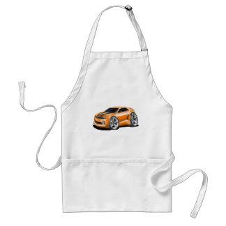 2010-11 Camaro Orange-Black Car Adult Apron