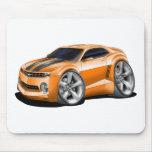 2010-11 Camaro Orange-Black Car Mouse Pad