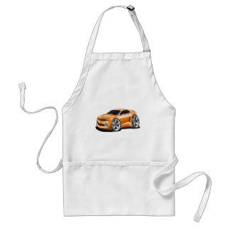 2010-11 Camaro Orange Car Adult Apron