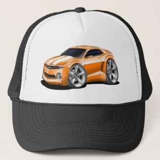 2010-11 Camaro Orange-White Car Trucker Hat