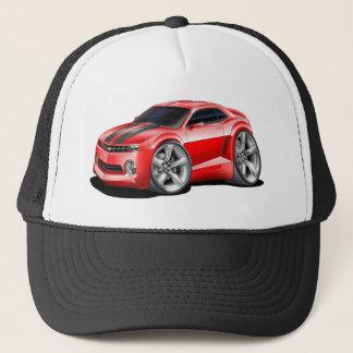 2010-11 Camaro Red-Black Car Trucker Hat