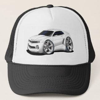 2010-11 Camaro White Car Trucker Hat