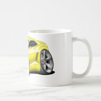 2010-11 Camaro Yellow car Coffee Mug