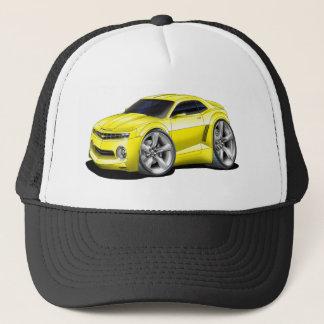 2010-11 Camaro Yellow car Trucker Hat