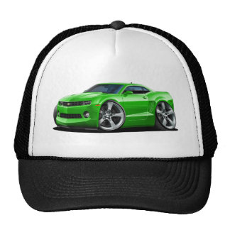 2010-12 Camaro Green Car Trucker Hat