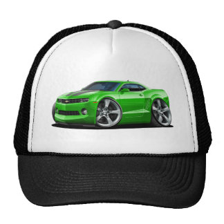 2010-12 Camaro Green-Grey Car Trucker Hat