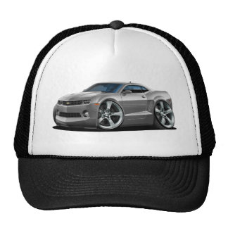2010-12 Camaro Grey Car Trucker Hat