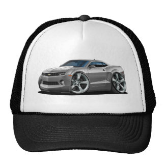 2010-12 Camaro Grey-White Car Trucker Hat