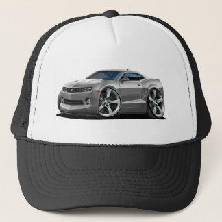 2010-12 Camaro Grey-White Car Trucker Hat