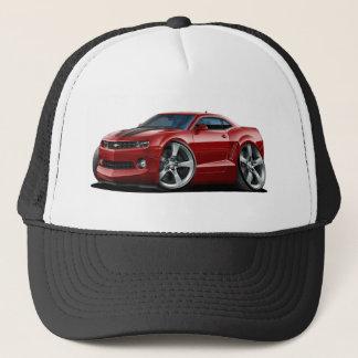 2010-12 Camaro Maroon-Black Car Trucker Hat