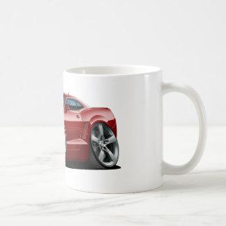 2010-12 Camaro Maroon Car Coffee Mug