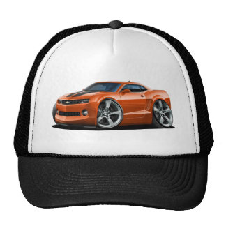 2010-12 Camaro Orange-Black Car Trucker Hat