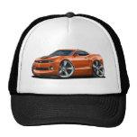 2010-12 Camaro Orange-Black Car Trucker Hat