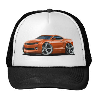 2010-12 Camaro Orange Car Trucker Hat