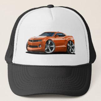 2010-12 Camaro Orange-White Car Trucker Hat