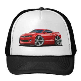2010-12 Camaro Red Car Trucker Hat