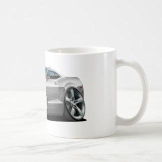 2010-12 Camaro Silver-Black Car Coffee Mug