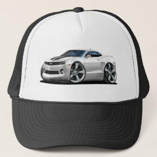 2010-12 Camaro White-Black Car Trucker Hat