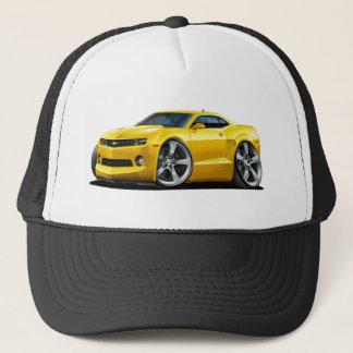 2010-12 Camaro Yellow Car Trucker Hat