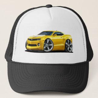 2010-12 Camaro Yellow-White Car Trucker Hat
