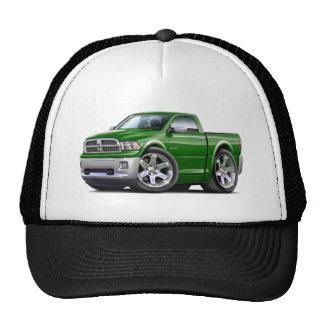 2010-12 camión verde del espolón gorros