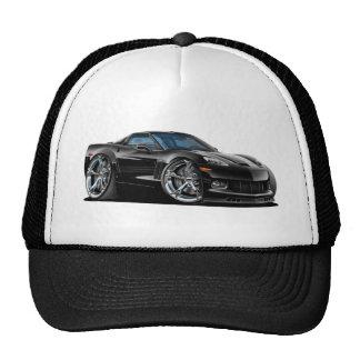 2010-12 Corvette Black Car Trucker Hat