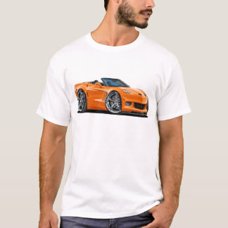 2010-12 Corvette Orange Convertible T-Shirt