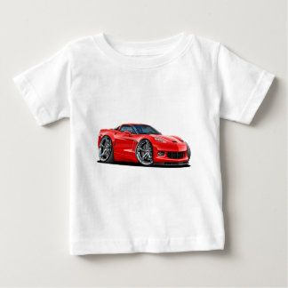 2010-12 Corvette Red Car Baby T-Shirt