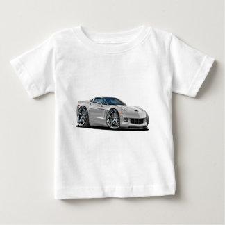 2010-12 Corvette Silver Car Baby T-Shirt