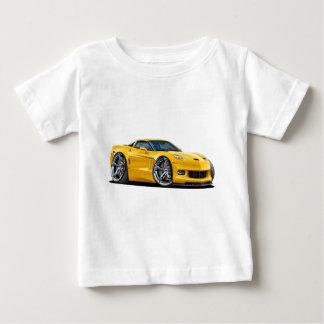 2010-12 Corvette Yellow Car Tee Shirt