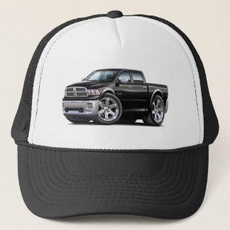 2010-12 Ram Dual Black Truck Trucker Hat