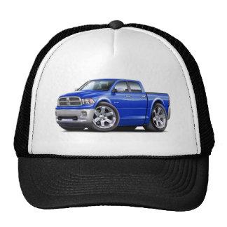 2010-12 Ram Dual Blue Truck Mesh Hats