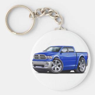 2010-12 Ram Dual Blue Truck Keychain