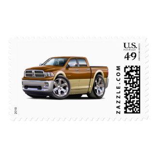 2010-12 Ram Dual Brown-Tan Truck Postage