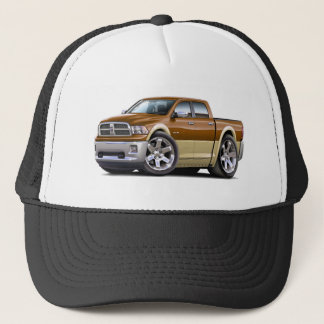 2010-12 Ram Dual Brown-Tan Truck Trucker Hat