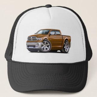 2010-12 Ram Dual Brown Truck Trucker Hat
