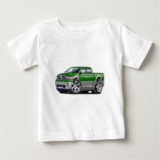 2010-12 Ram Dual Green-Grey Truck Baby T-Shirt