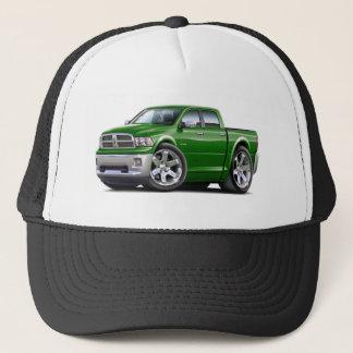 2010-12 Ram Dual Green Truck Trucker Hat