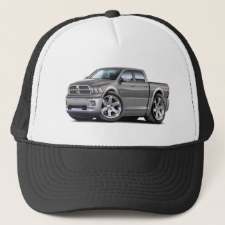 2010-12 Ram Dual Grey-SilverTruck Trucker Hat
