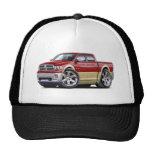 2010-12 Ram Dual Maroon-Tan Truck Trucker Hat