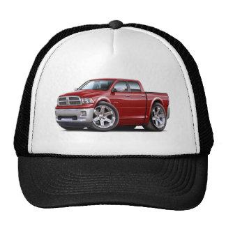 2010-12 Ram Dual Maroon Truck Trucker Hat