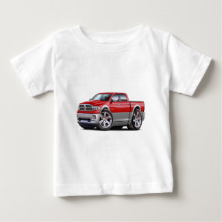 2010-12 Ram Dual Red-Grey Truck Baby T-Shirt