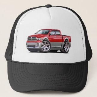 2010-12 Ram Dual Red-Grey Truck Trucker Hat