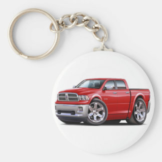 2010-12 Ram Dual Red Truck Keychain