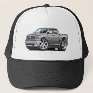 2010-12 Ram Dual Silver-Grey Truck Trucker Hat