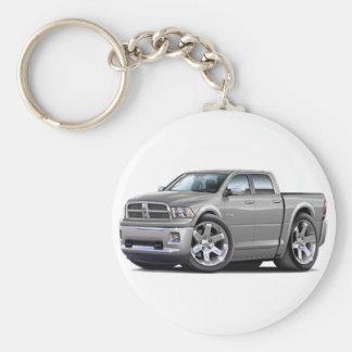 2010-12 Ram Dual Silver Truck Keychain