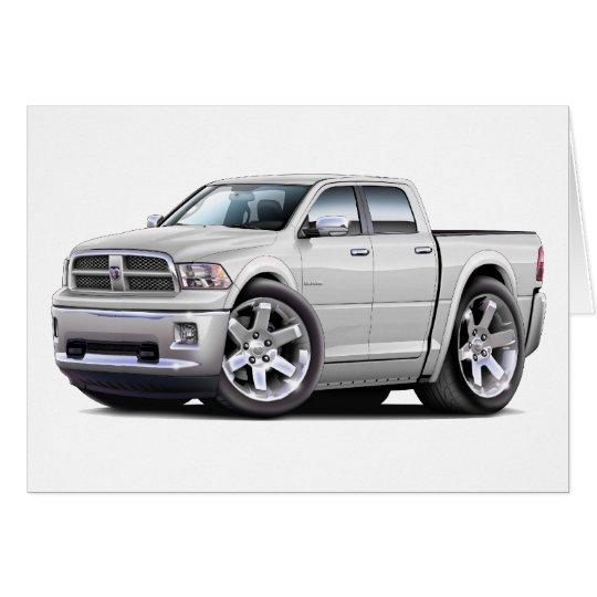 2010-12 Ram Dual White Truck Card