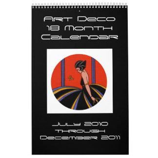 2010-2011 ART DECO CALENDAR