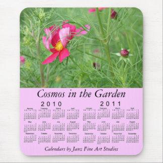 2010-2011 Floral Calendar Mouse Pad