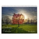 2010-2011 Landscape Calendar